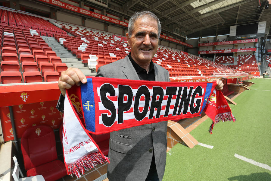 La trayectoria de Paco Herrera en el Sporting, en imágenes