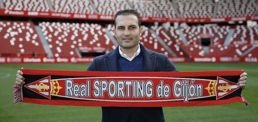 «El reto del Sporting no me asusta, me motiva», asegura Rubén Baraja