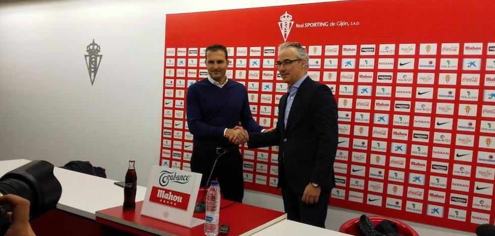 Rubén Baraja: «El Sporting tiene que aspirar a todo»