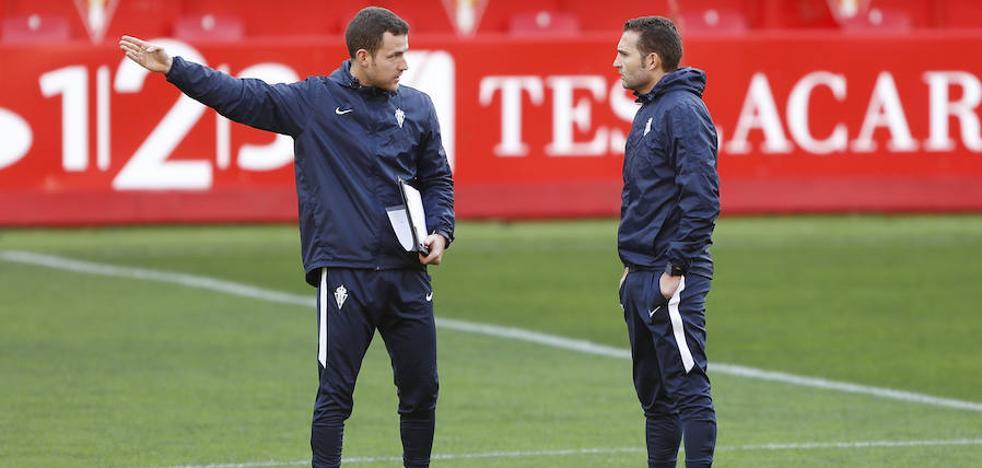 Sporting | Rubén Baraja: «Hay jugadores que tienen que llevar la voz cantante en el vestuario»