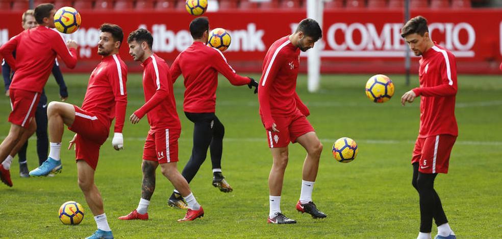 Sporting   Canella vuelve al trabajo con el grupo