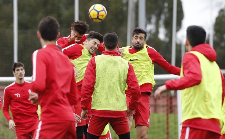 Entrenamiento del Sporting (05/01/17)