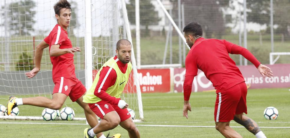 Sporting | Álex López y Lora, novedades en el entrenamiento