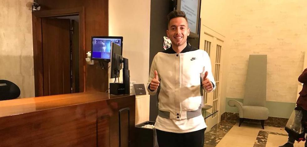 Jony ya está en Gijón: «Voy a intentar sumar desde el primer día»