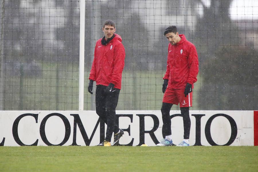 Entrenamiento del Sporting (11-01)