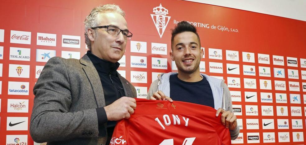 Sporting | Jony: «Hay un reto bonito y difícil por delante y me gusta lo complicado»