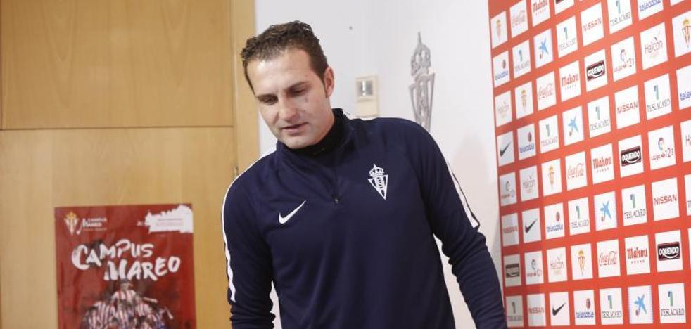 Rubén Baraja: «No podemos poner a Jony como solución a todos los problemas del Sporting»