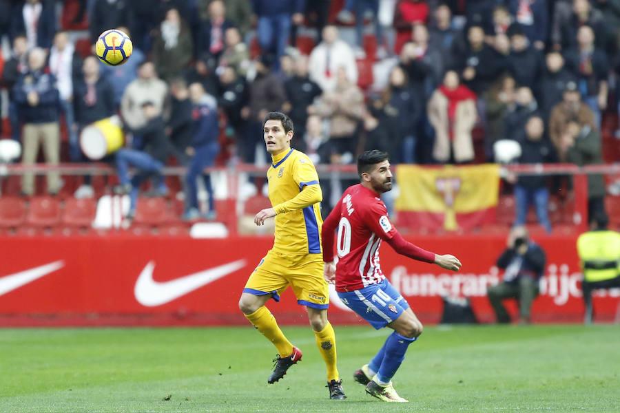 Sporting 3 - 0 Alcorcón, en imágenes