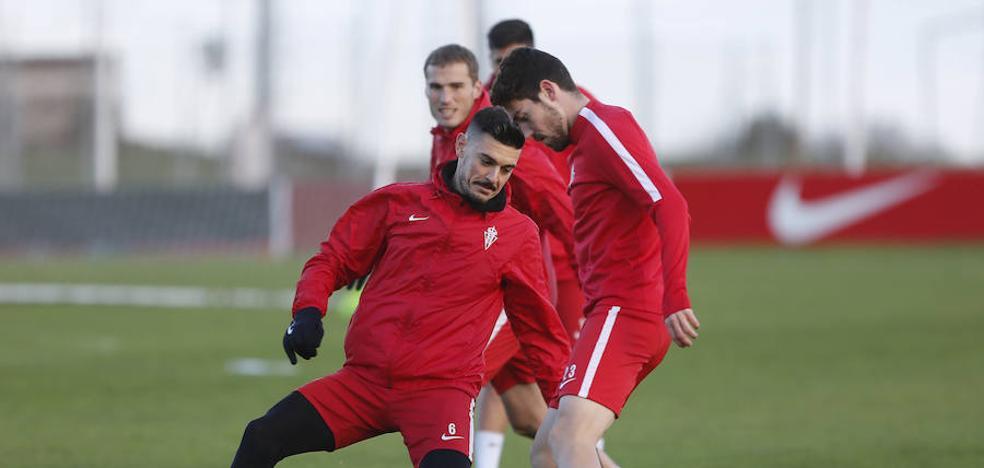 Sporting | Jordi Calavera será baja ante el Lugo