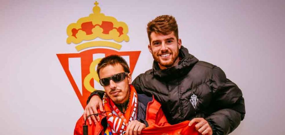 Sporting | Jordi Calavera cumple su promesa a Álex Varela