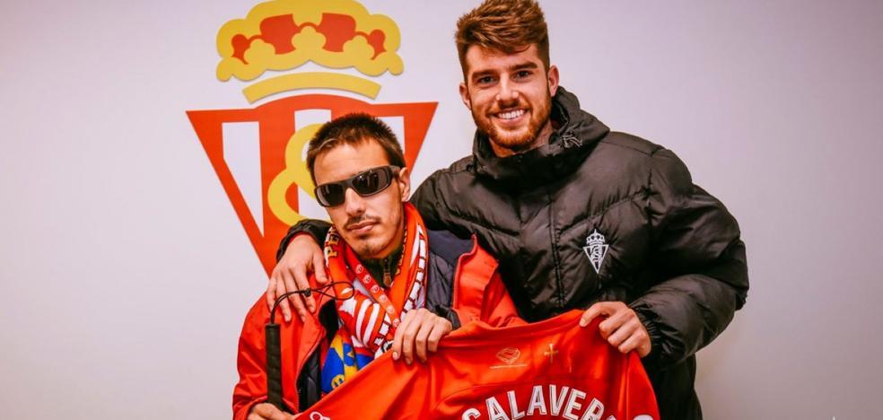 Jordi Calavera se rinde a la historia de Álex Varela