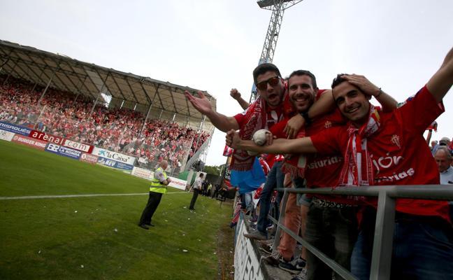 La 'Mareona' se moviliza para apoyar al Sporting en Lugo