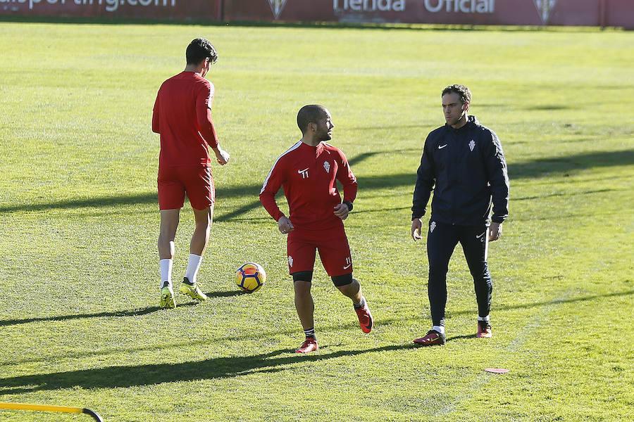 Entrenamiento del Sporting (16-01-2018)
