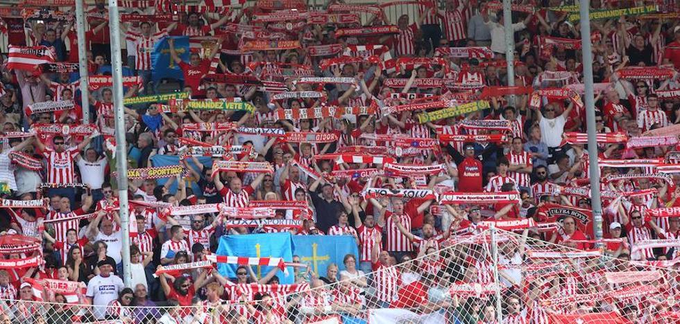 Los seguidores del Sporting sin entrada verán el partido en Lugo en una pantalla gigante