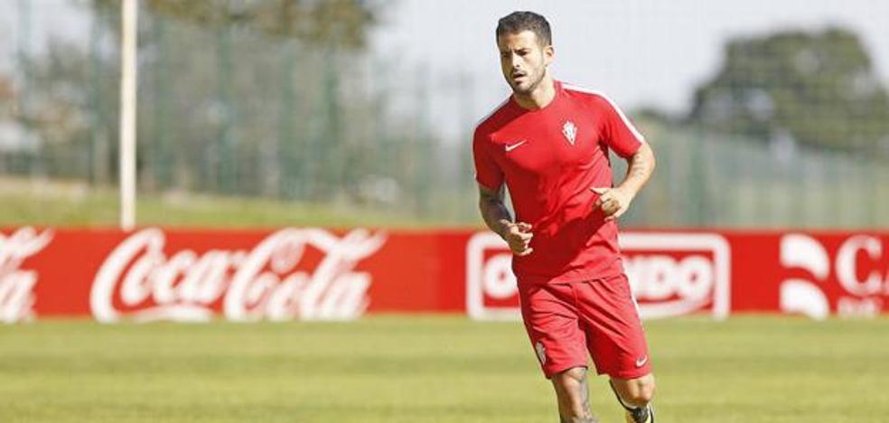 Sporting: Rubén García y Santos se retiran antes de tiempo por molestias musculares