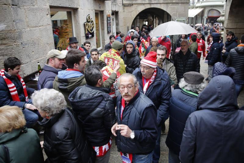 La Mareona del Sporting, en Lugo
