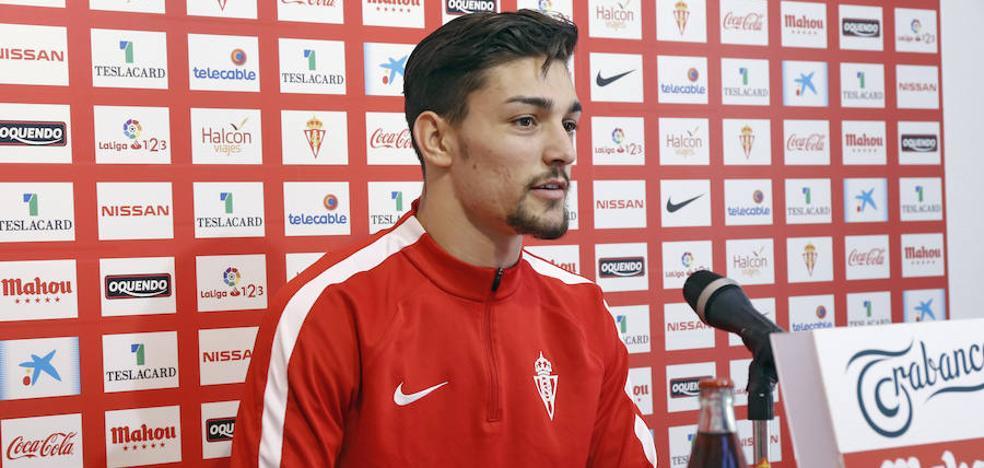Barba, sobre el presunto interés del Nápoles: «Pienso que voy a seguir en el Sporting»