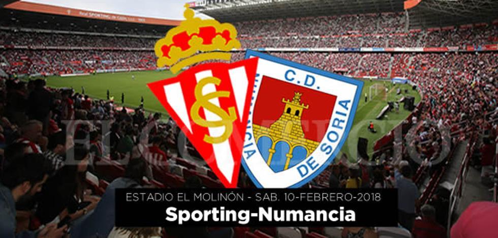 Ganadores de entradas para el Sporting%u2013Numancia
