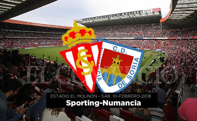 Ganadores de entradas para el Sporting–Numancia