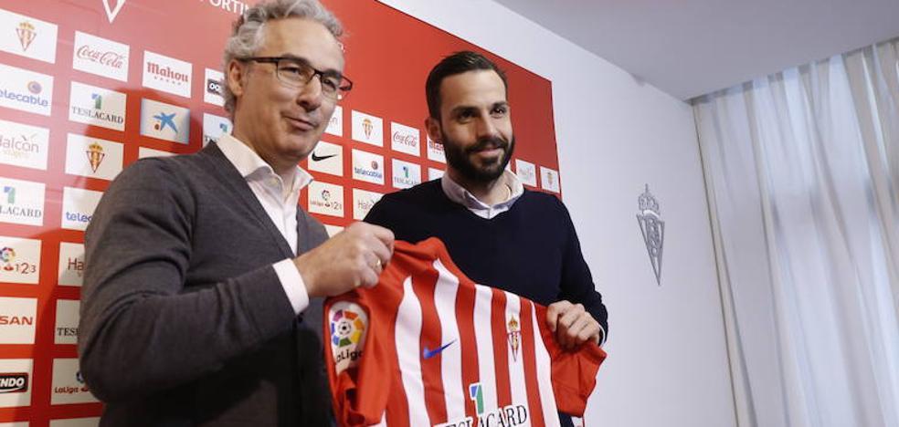 Guitián: «El fútbol me ha dado el regalo de estar en el Sporting y tengo que aprovecharlo»