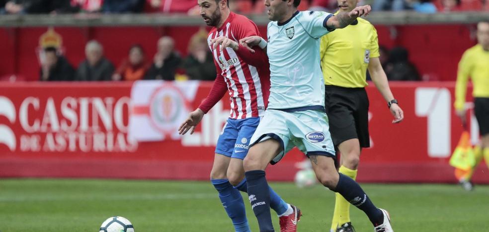 Alberto Guitián volvió a defender la camiseta rojiblanca dos años después