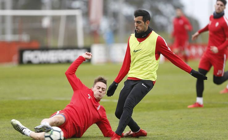 Entrenamiento Sporting (10/02/2018)
