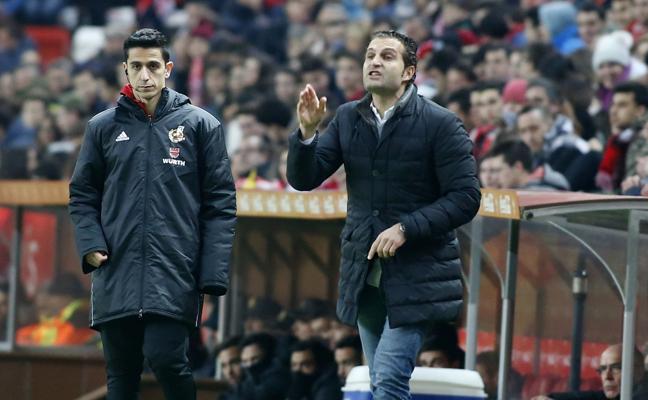 Sporting   «Estamos en el camino», asegura Rubén Baraja
