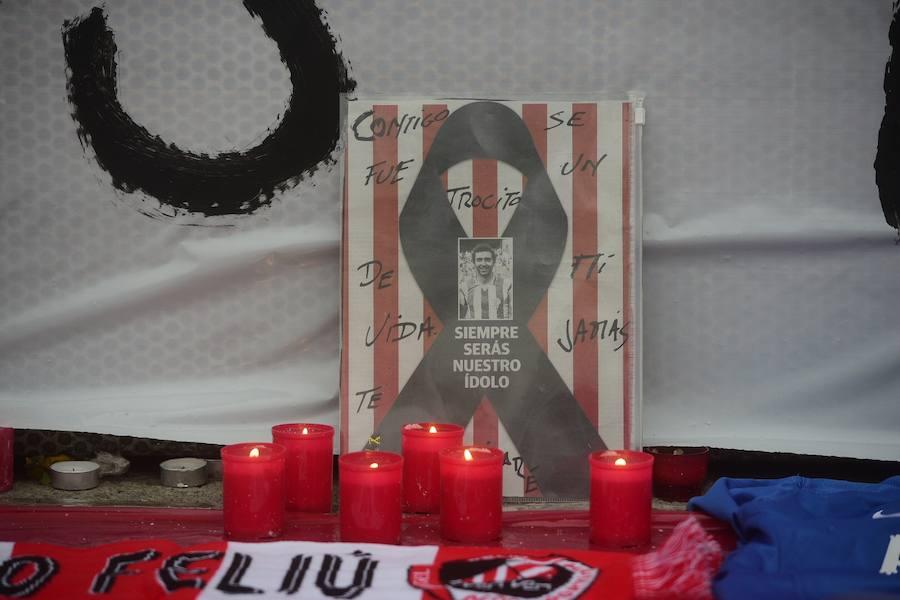 #EternoQuini, en la puerta 9 de El Molinón