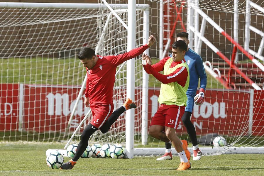 Entrenamiento del Sporting en Mareo (01-03)