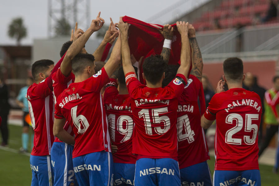 Las mejores imágenes del Sevilla Atlético 0-1 Sporting