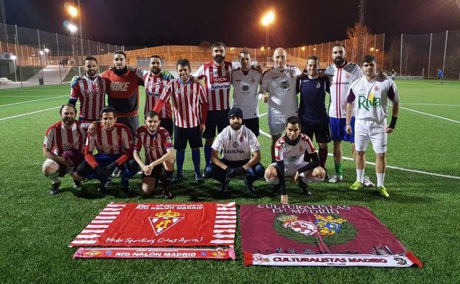 La Cultural se 'adelanta' en el marcador desde Madrid