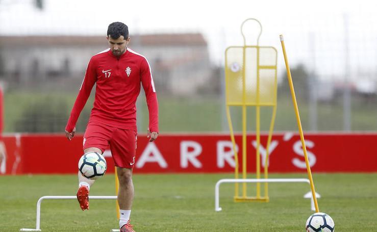 Entrenamiento Sporting (16/03/2018)