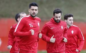 Guitián acelera en su recuperación para Huesca y la presencia de Barba se complica
