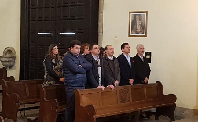 Misa en honor a Quini en Salas
