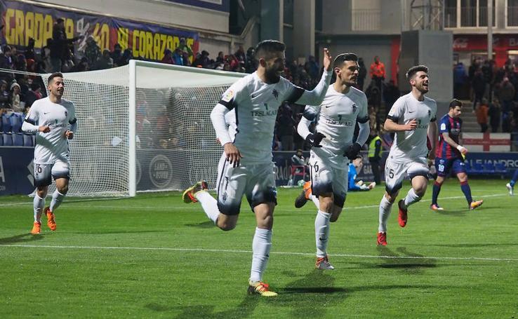 El Huesca-Sporting (0-2)