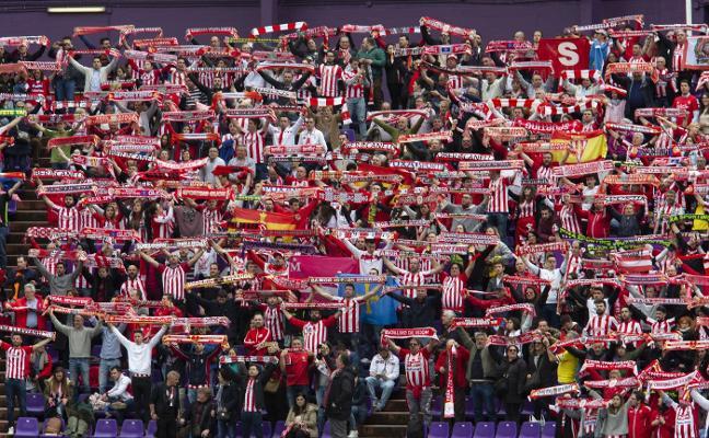 Sporting | La Mareona toma Valladolid