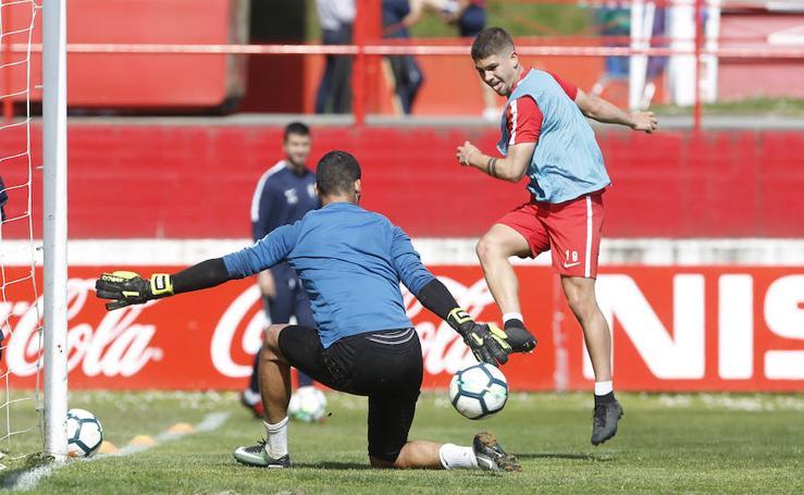 Entrenamiento Sporting (16-04-2018)