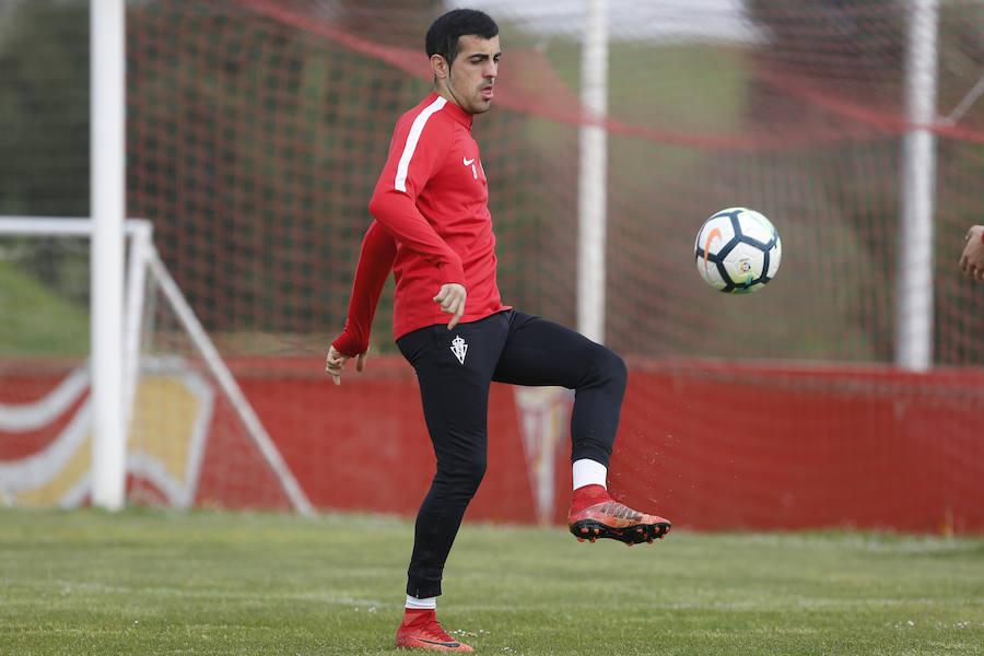 Entrenamiento del Sporting (20-4-18)