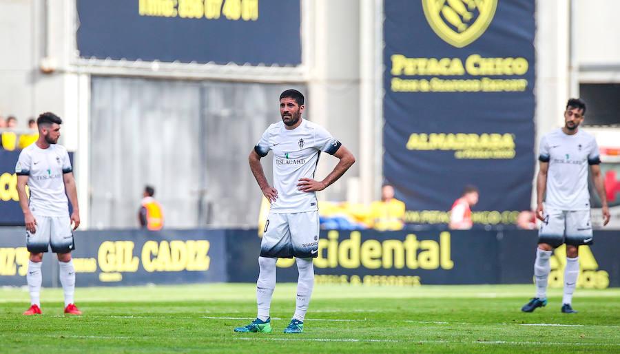 Cádiz 0-0 Sporting