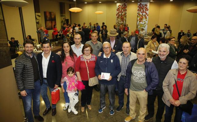 La peña sportinguista La Laguna celebra su 81 aniversario en el Langrehotel