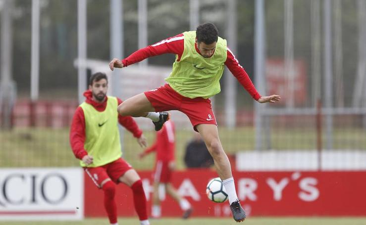 Entrenamiento Sporting (28-04-2018)