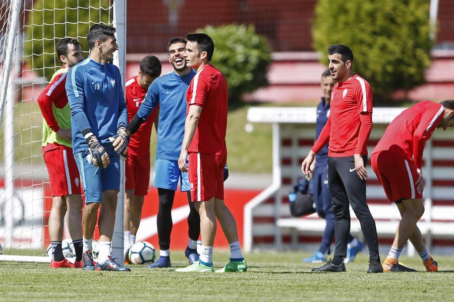 Entrenamiento del Sporting (01-05)