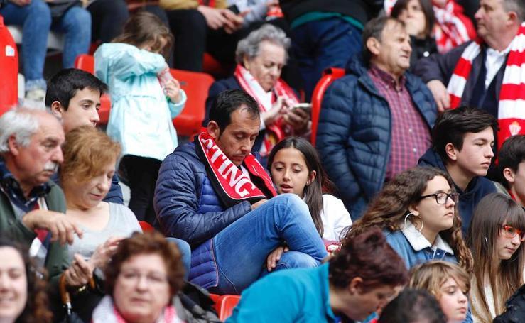 ¿Estuviste en el Sporting - Barcelona B? ¡Búscate!