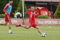 Entrenamiento Sporting (13-05-2018)