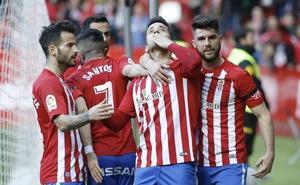 El Sporting recibe al Granada de domingo a las 20.30 horas