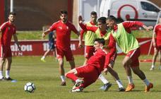 Entrenamiento del Sporting (15-05-2018)