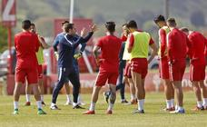 Entrenamiento del Sporting (17-05-2018)