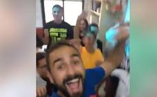 Un profesor asturiano fomenta el juego limpio entre sus alumnos tinerfeños ante el partido contra el Sporting