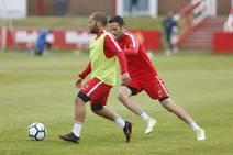 Entrenamiento del Sporting (24/05/18)