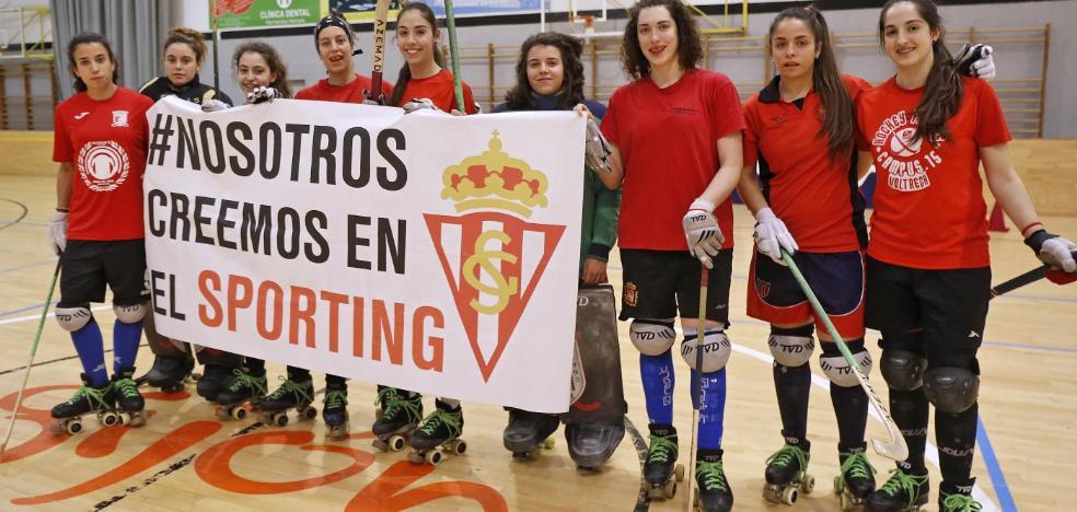 El Hostelcur se vuelca con el Sporting en la carrera por el ascenso a Primera